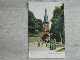 STARGARD             JOHANNISTOR UND KIRCHE - Polonia