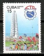 Cuba 1999 / Labor Union MNH Central De Trabajadores / Cu15219  32-36 - Cuba