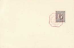 Schweiz - 1943 - 6c Stamp From Block Cancelled On Card - Schweiz