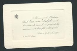 F.P. Naissance De Jacques Grassin Delyle à Poitiers Le 30/04/1913 Bpho2720 - Geburt & Taufe