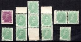 Belgique YT N° 129 Et 1931 Variétés Sans La Croix. Neufs **/*. B/TB. A Saisir! - 1914-1915 Rotes Kreuz