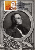 Cartolina Maximum Portugal G. Rossini 200 Anos De Teatro De Carlos Lisboa - Non Classificati