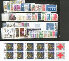 France- ULTRA COMPLETE 1984 ** + Aérienne + Préos + Services + Carnet Croix-Rouge - Frankreich