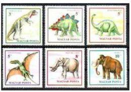 Hongrie 1990 Dinosaurs Dinosaures - Prehistory