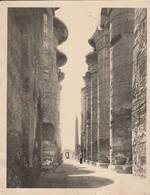Photo Ancienne - Egypte - Karnak -the Pillars In The Great Hypostile Hall - Gaddis &self  Luxor - Lugares