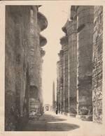 Photo Ancienne - Egypte - Karnak -the Pillars In The Great Hypostile Hall - Gaddis &self  Luxor - Luoghi