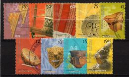 ARGENTINA : B084  -   2000/1  Used Set : 9 Pieces To  $  9,40 - Argentina