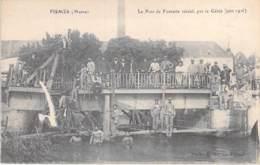 MILITARIA - 51 - FISMES : Le PONT De FISMETTE Rétabli Par Le Génie - CPA - War 1914-18