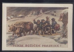 SLOVENIA GASPARI OLD POSTCARD - Slowenien