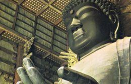 1 AK Japan * Die Größte Buddhistische Bronzestatue Der Welt Der Daibutsu Im Tōdai-ji Tempel In Nara UNESCO Welterbe * - Giappone