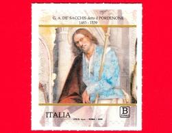 Nuovo - MNH - ITALIA - 2019 - Giovanni Antonio De' Sacchis Detto Il Pordenone - San Rocco E Sant'Erasmo - B Zona 3 - 1946-.. République