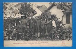 TONKIN - TROUBLES DE SEPTEMBRE 1908 - PIRATES  DE LA BANDE DE ÇA, CAPTURÉS PROVINCE DE VING-YEN - Viêt-Nam