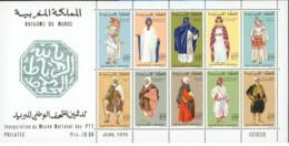 Marocco - 1970 - Nuovo/new MNH - Costumi - Mi Block N. 6 - Marocco (1956-...)