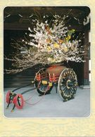 1 AK Japan * Cart Decorated With Flowers At The Imperial Palace In Kyoto * - Kyoto
