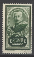 Marocco - 1935 - Usato/used - Marschall Lyautey - Mi N. 124 - Gebruikt
