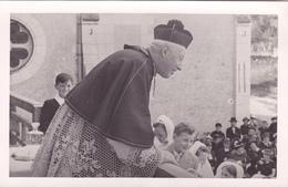 CARTE PHOTO 37 @ SAINTE MAURE DE TOURAINE - Communion Solennelle Avec Le Curé Chavigny 1940 's - Photo A. Gillet Photos - France