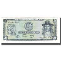 Billet, Pérou, 50 Soles De Oro, 1977, 1977-12-15, KM:113, NEUF - Perú