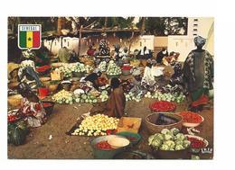 SENEGAL MARCHE SENEGALAIS  - ANNEE 60/70 - Cpa NEUF  Voir Detail Annonce - Senegal