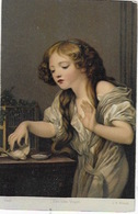 CPA Peinture De Jean Baptiste Greuze - L'Oiseau Mort - Museum