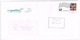 Bund 2014,GS Zu Michel# 3088 O Blumen Tausendgüldenkraut - Enveloppes - Oblitérées