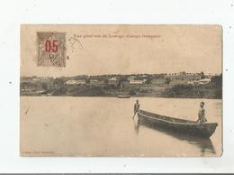 VUE GENERALE DE LOANGO (CONGO FRANCAIS) 1904 - Congo Français - Autres