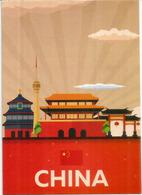 Hangzhou Muzhipin-Taobao ,Zhejiang,  Postcard Sent To Andorra,with Arrival Postmark - Cina