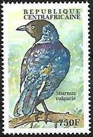 CENTRAL AFRICA - MNH - 2000 :   Purple Starling  -  Lamprotornis Purpureus - Uccelli Canterini Ed Arboricoli