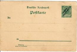 Postkarte Ganzsache Deutsch-Südwestafrika 5 Pfennig - Colony: German South West Africa