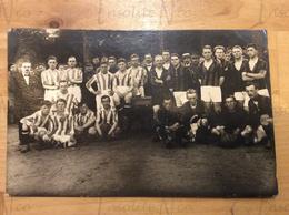 Photographie Finalistes Football De La Coupe Léopold - Frans Demol - Camp De Beverloo 6 Juillet 1923 Divers Régiments - Deportes