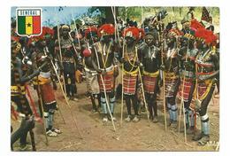 SENEGAL - FEMME SENEGALAISE QUI DANSE LE BASSARI - ANNEE 60/70 - Cpa Ecrite  Voir Detail Annonce - Senegal