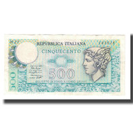 Billet, Italie, 500 Lire, 1974, 1974-02-14, KM:94, SUP - [ 2] 1946-… : Républic
