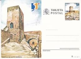 España Entero Postal Nº 149 MUESTRA - Enteros Postales