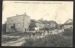 Brixey Aux Chanoines,par Sauvigny (Meuse)-Entrée Du Village-Rue De La Fontaine - France
