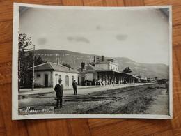 Aveyron, Millau, Photo De La Gare, 1912. - Trains