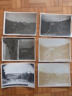 Aveyron, 6 Photos Aguessac, Déraillement En 1910. - Trains