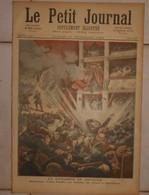 Le Petit Journal. 25 Novembre 1893.Explosion D'une Bombe Au Théâtre Du Liceo à Barcelone. Scaphandriers. - Livres, BD, Revues