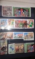 Lot De 15 Timbres De Lybie - Libia