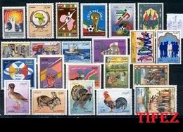Année  Complète 1990 - N°971/992 Neufs**MNH : Soit 22 Timbres Neufs** - Algerije (1962-...)