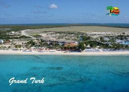 Turks And Caicos Grand Turk Cockburn Town Beach New Postcard - Turks- Und Caicosinseln