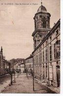 SAINT AVOLD - RUE DU COUVENT ET L'EGLISE - Saint-Avold