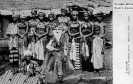 SIRRA LEONE - VG Ethnic - Bondu Girls (11) - Sierra Leone