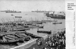 SIRRA LEONE -  View From King Jimmy's Wharf FREETOWN - MAny Ships Etc - Sierra Leone
