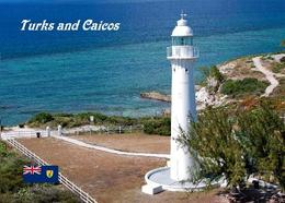 Turks And Caicos Grand Turk Island Lighthouse New Postcard Leuchtturm AK - Turques-et-Caïques (Iles)