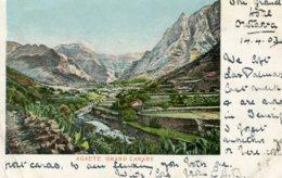 SPAIN - Canary Isles - GRAN CANARIA - Agaete - Vignette - 1903 Very Good Postmarks  Etc - Undivided Rear - Gran Canaria