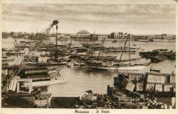 ERITREA - Massaua El Porto - VG Harbour Views With Ships Etc - Eritrea