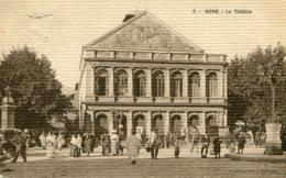 ALGERIA - BONE (Annaba) Le Theatre - VG Animation Etc - VG WHITBY UK Postmark 1914 - Annaba (Bône)