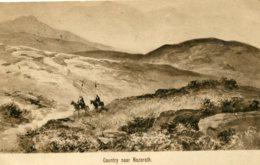 PALESTINE (Israel)  Country Near Nazareth - 1911 Northampton UK Postmark - Palestina