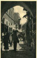 PALESTINE (Israel) Jerusalem  - RPPC The David Street - Palestina