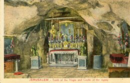 PALESTINE (Israel) Jerusalem  - Tomb Of The Virgin And Grotte Of The Agony - Palestina