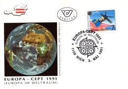 Austria 1991, FDC, Europa CEPT - 1945-.... 2nd Republic